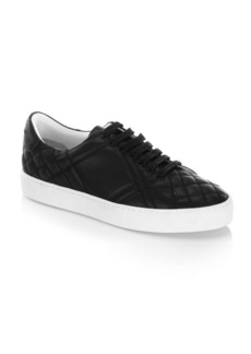 Burberry Westford Quilted Leather Sneakers