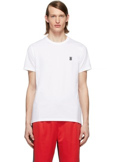 Burberry White Parker T-Shirt