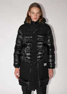 Burberry Wool & Quilted Nylon Down Jacket