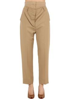 Burberry Wool Blend Trousers W/ Waist Insert