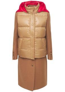 Burberry Wool Coat W/vest