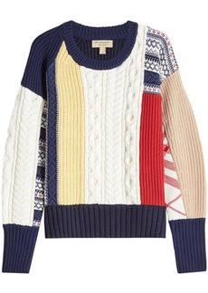 Burberry Wool Pullover with Cashmere
