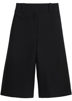 Burberry Wool Silk Wide-leg Culottes
