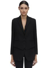 Burberry Wool Tuxedo Blazer