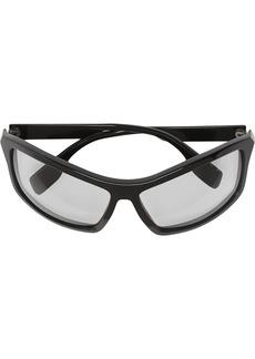 Burberry Wrap Frame Sunglasses