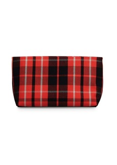 Burberry Zippered Leather Clutch