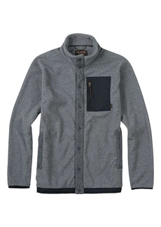 Burton Men's Hearth Snap-Up Fleece Top