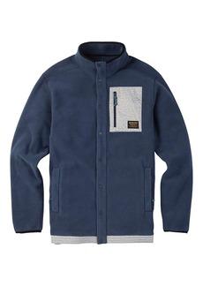 Burton Men's Hearth Snap-Up Fleece Top