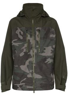 Burton Gore-Tex swash camo print coat