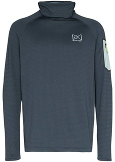 Burton Grip hooded roll neck sweatshirt