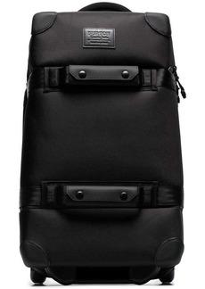 Burton black wheelie holdall bag