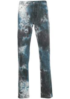 Buscemi tie-dye slim-fit jeans