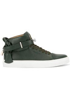 Buscemi buckled hi-top sneakers