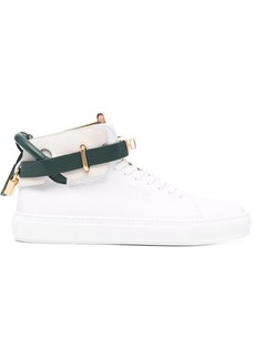 Buscemi colour-block high-top leather sneakers