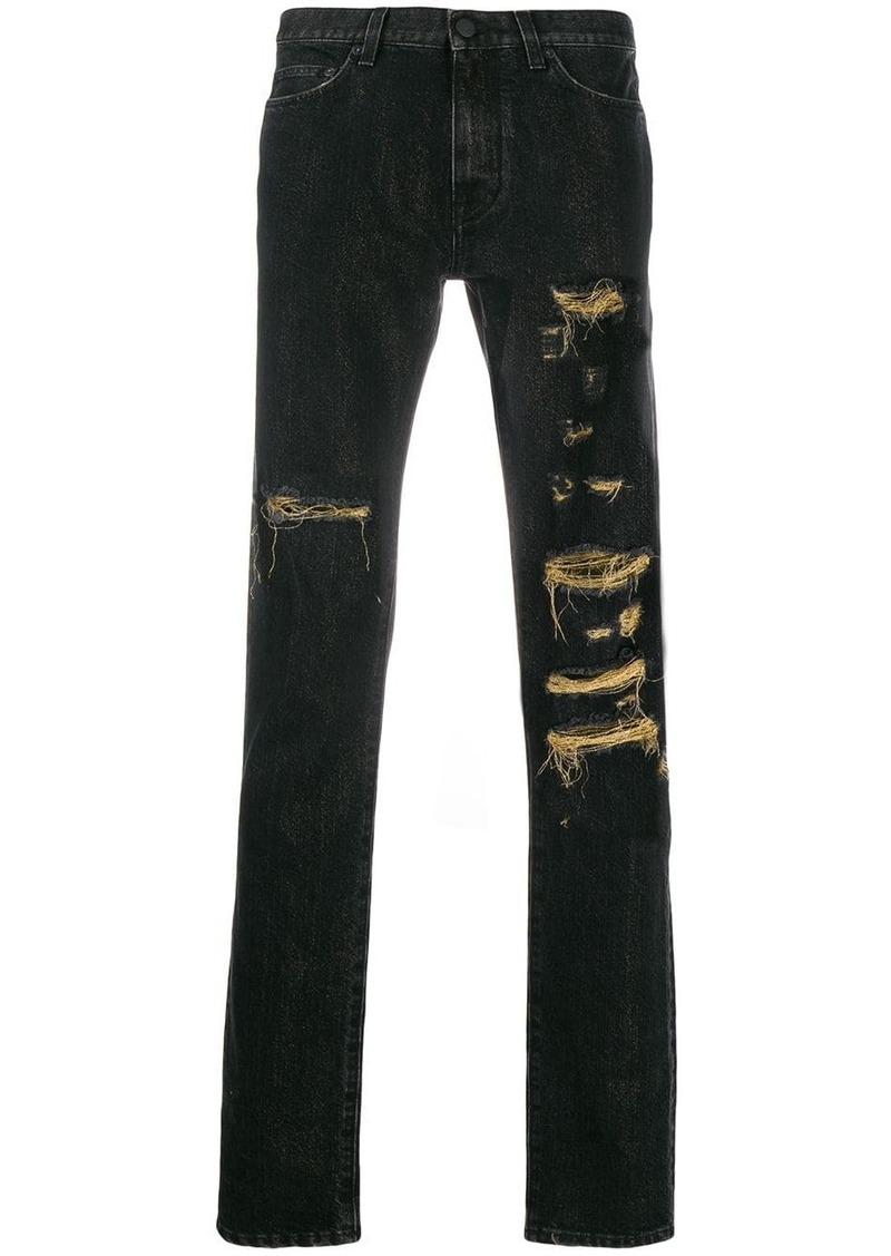 Buscemi distressed jeans