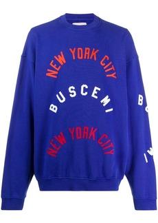 Buscemi NYC logo sweatshirt