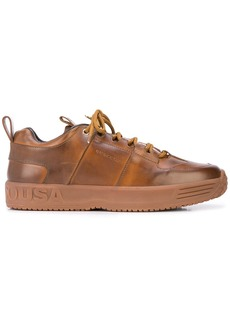 Buscemi panelled logo sneakers