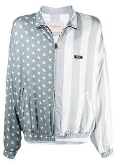 Buscemi printed zip-up jacket