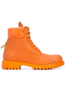 Buscemi Site padlock detail boots