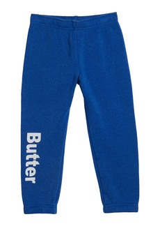 Butter Girl's Burnout Varsity Jogger Pants  Size 4-6