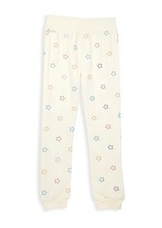 Butter Girl's Star-Print Joggers
