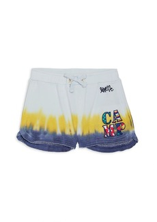 Butter Little Girl's & Girl's Camp Tie-Dye Shorts