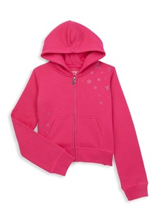 Butter Little Girl's Lighting Bolt Hoodie