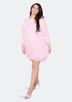 Buxom Couture Bubbled Poplin Mini Dress - 1X - Also in: 3X, 2X
