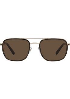 Bvlgari aviator-frame sunglasses