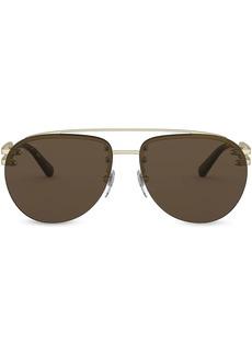 Bvlgari BV552 aviator-frame sunglasses