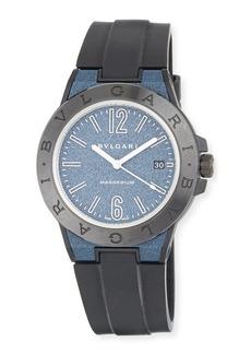 Bvlgari 41mm Ceramic Diagono Magnesium Watch