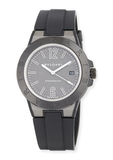 Bvlgari 41mm Diagono Magnesium Watch
