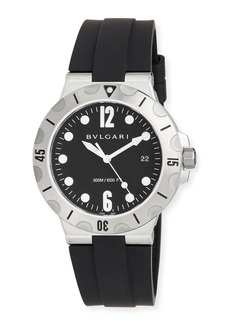 Bvlgari 41mm Stainless Steel Diagono SCUBA Watch