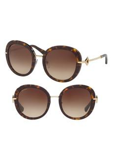 BVLGARI 53mm Gradient Sunglasses
