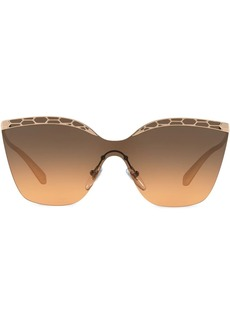 Bvlgari cat-eye cut-out sunglasses