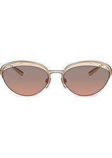 Bvlgari cat eye frame sunglasses