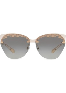 Bvlgari cat-eye frame sunglasses