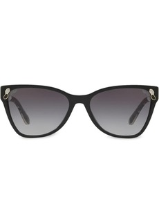 Bvlgari cat-eye tinted sunglasses