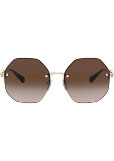 Bvlgari geometric sunglasses