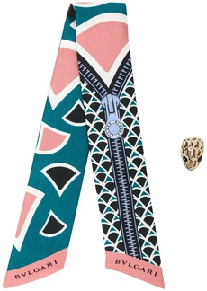 Bvlgari Heritage Shelley tie scarf