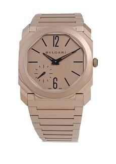 Bvlgari Octo Finissimo Rose Gold Bracelet Watch