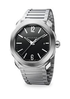 Bvlgari Octo Roma Stainless Steel Bracelet Watch