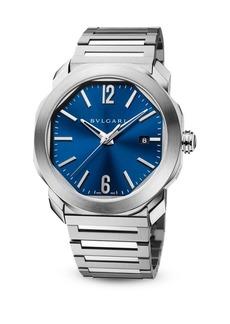 Bvlgari Octo Steel Bracelet Watch