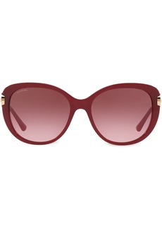 Bvlgari oval crystal embellished sunglasses