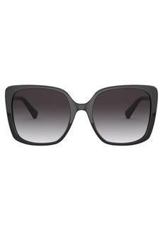 Bvlgari oversize square-frame sunglasses