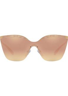 Bvlgari oversized frame sunglasses