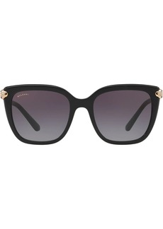 Bvlgari oversized square frame sunglasses