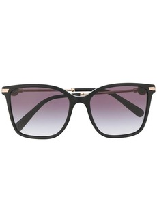 Bvlgari oversized square sunglasses