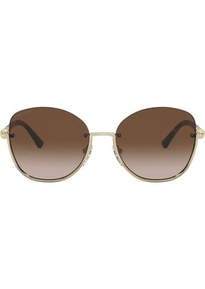 Bvlgari oversized sunglasses