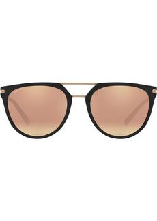 Bvlgari round aviator sunglasses